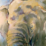 olifant - 50x60 - verkocht