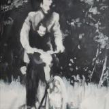 portret-schilderij 2 - 70x100 - acryl op doek