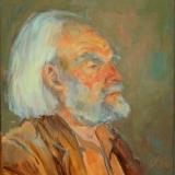 portret-schilderij 3- 50x60 - olieverf op doek