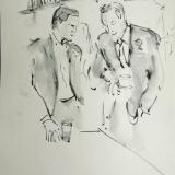 bruiloft 5 - gasten - 30x36