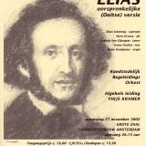 Mendelssohn - affiche Concertgebouw