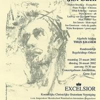 affiche Concertgebouw 2 - Mattheus Passion